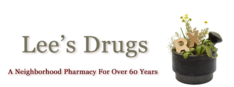Lee's Drugs Logo