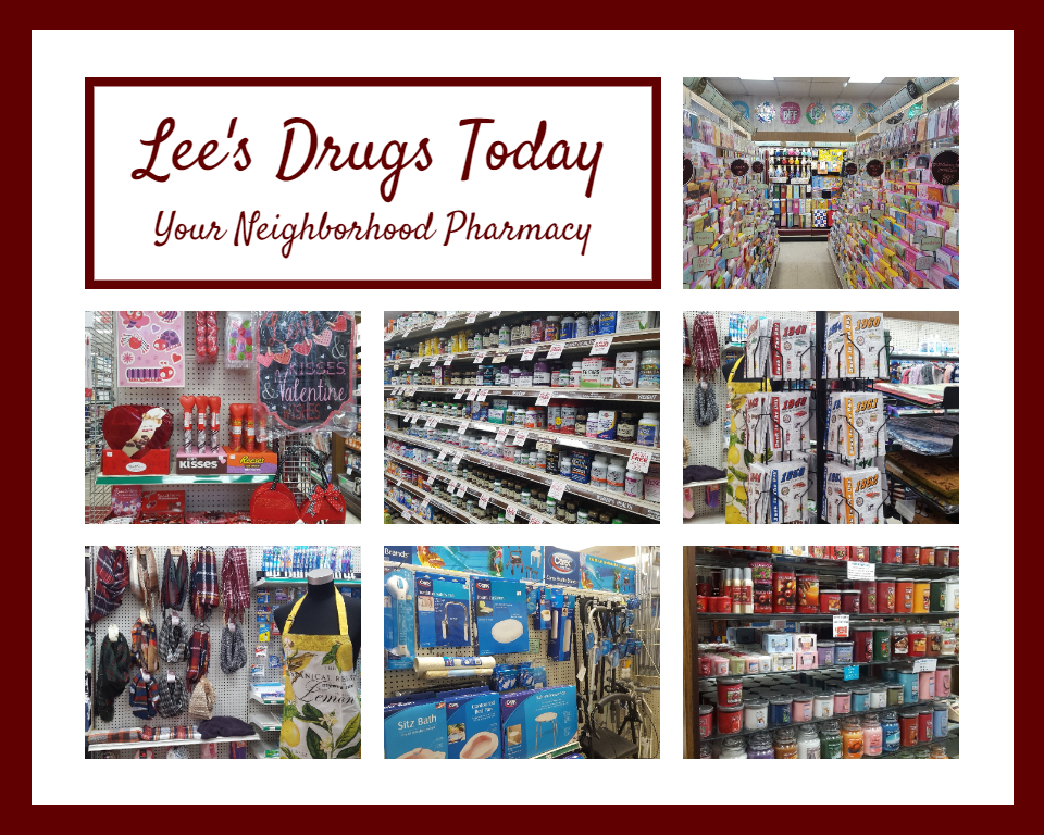 Lee's Drugs Today - Store Interiors